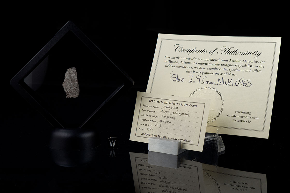 NWA 6963 2.9 Grams with certificates