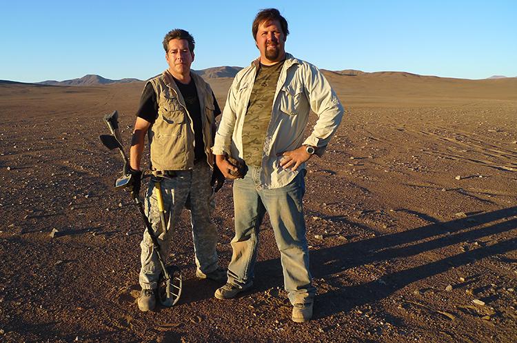 The Meteorite Men in the Atacama Desert
