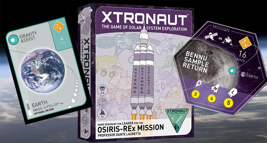 Xtronaut Board Game with Cards