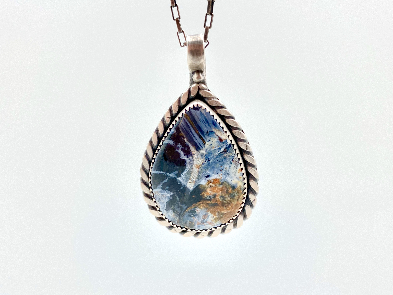Pietersite Sterling Silver Pendant