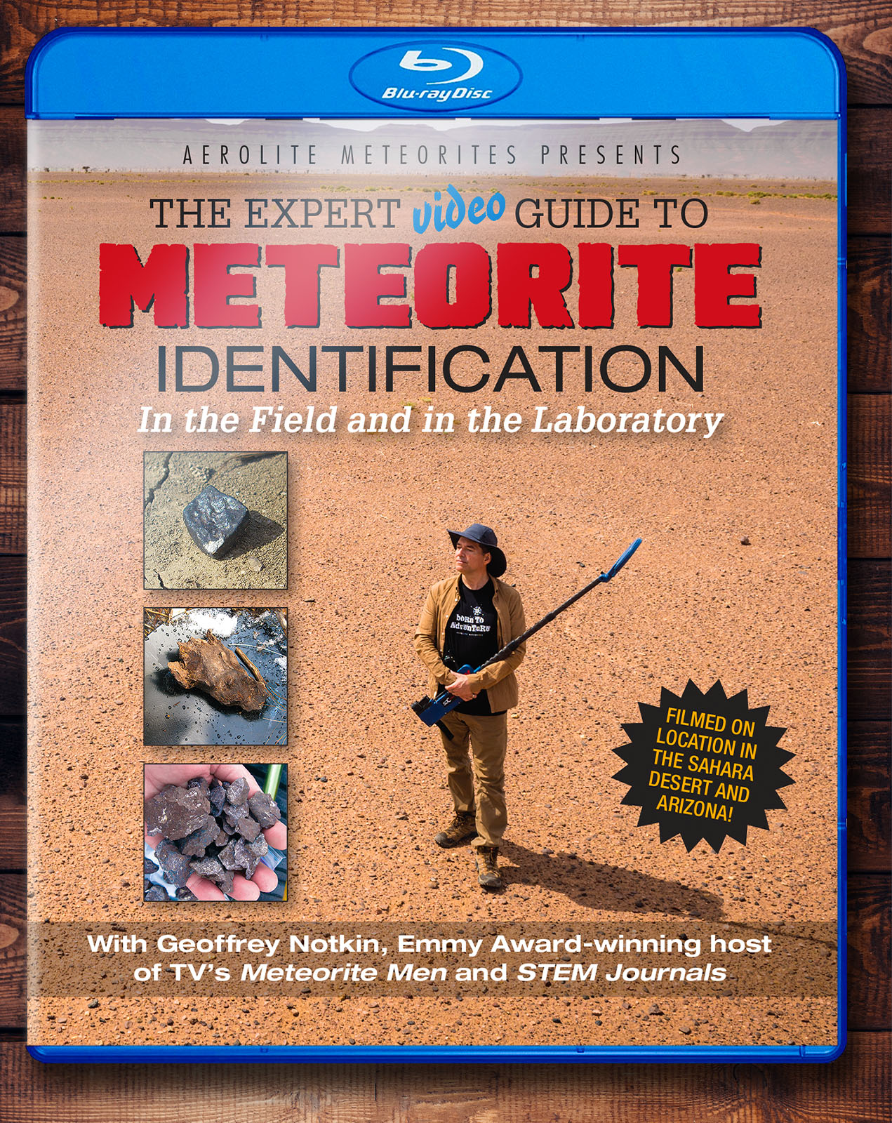 bluray on how to identify a meteorite