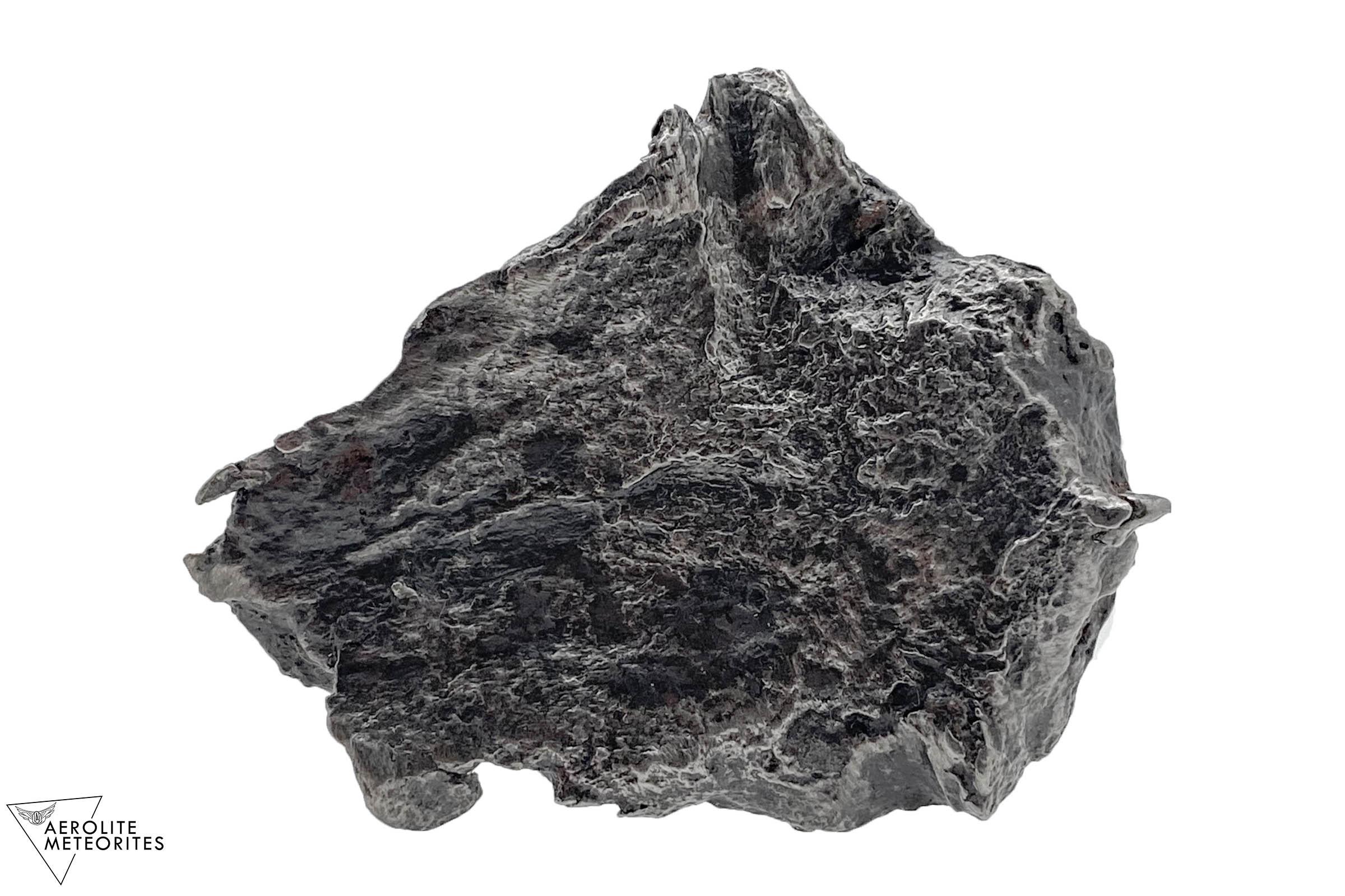 iron meteorite shrapnel back