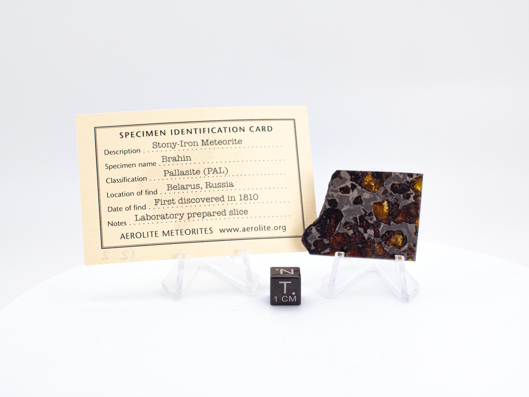 brahin stony-iron meteorite