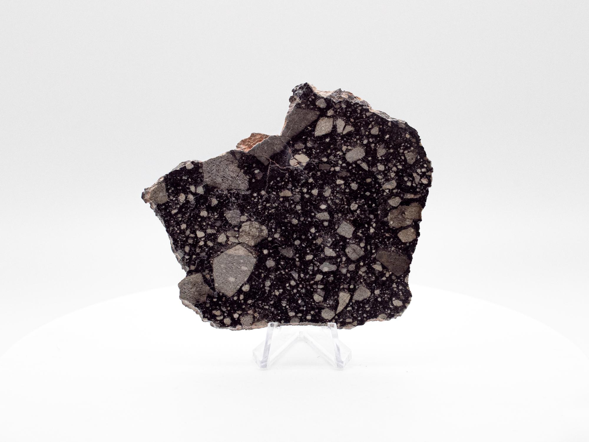 lunar meteorite slice