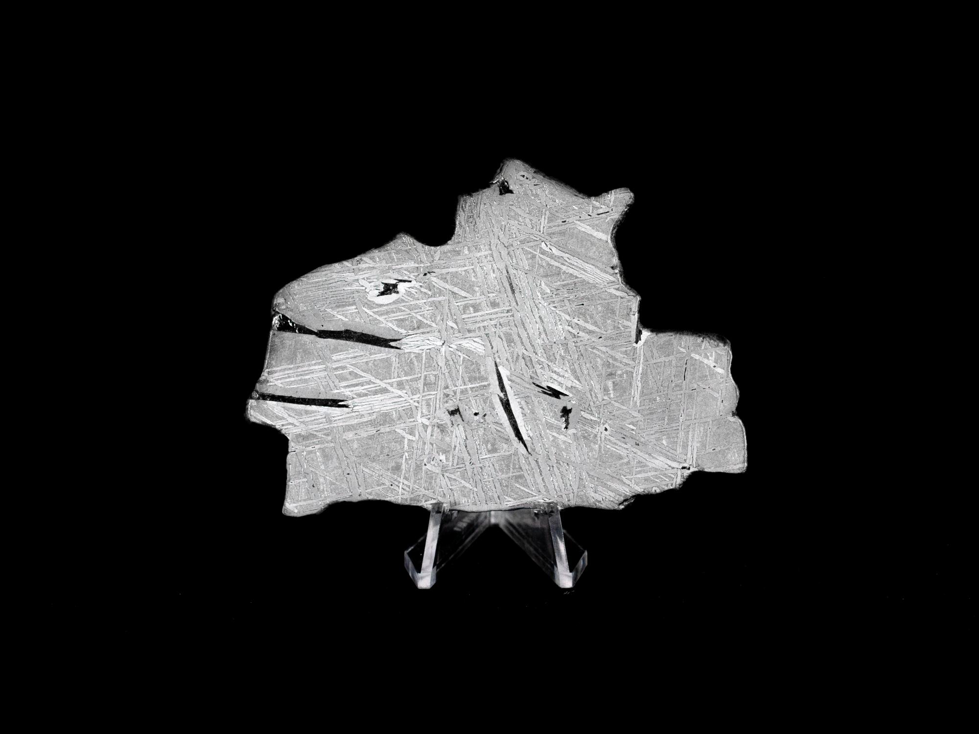 saint aubin iron meteorite