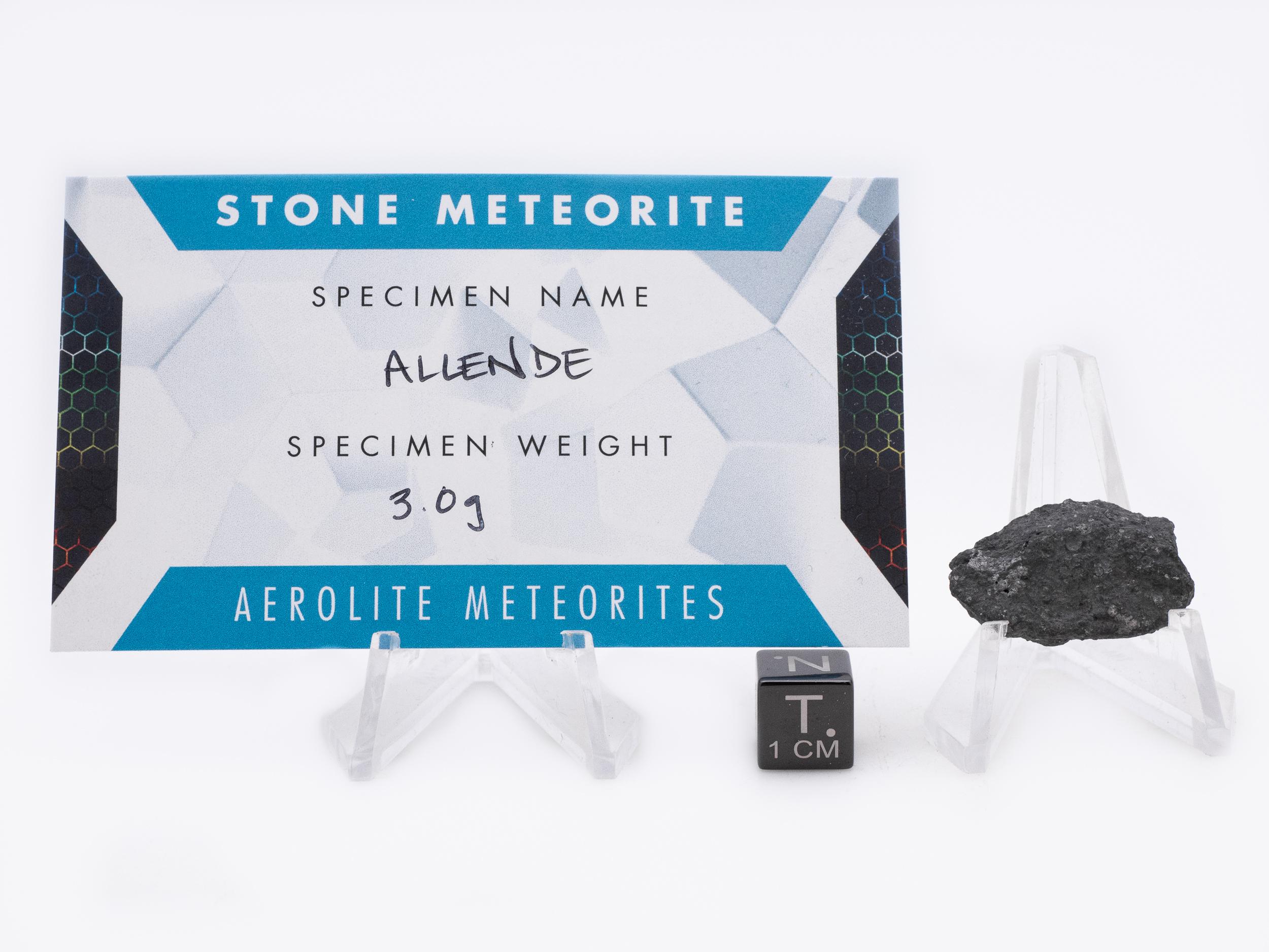 allende meteorite 3