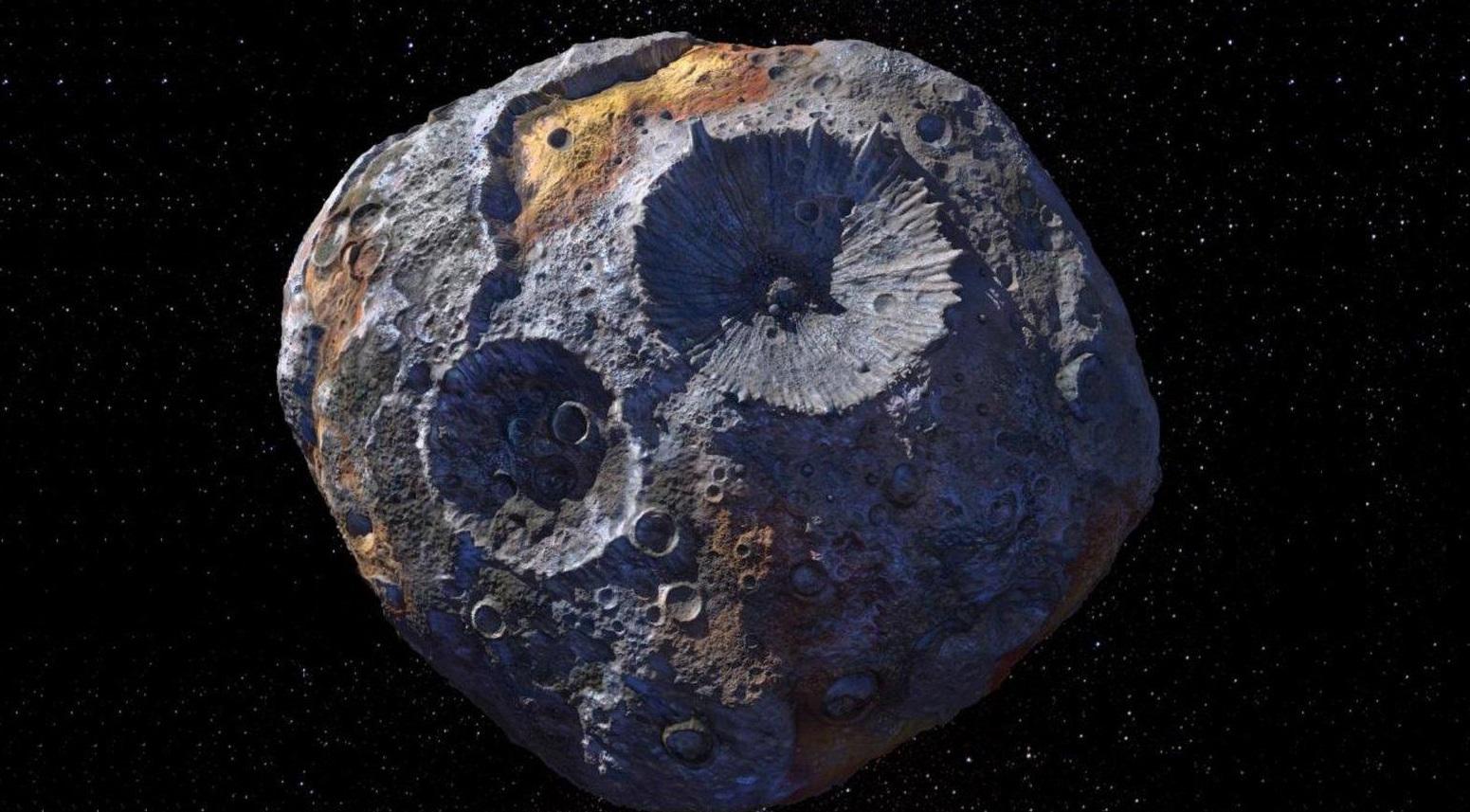 NASA asteroid impact psyche